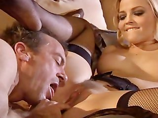 Randy Spears fucks Alexis Texas, with footjob