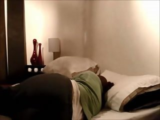 Amateur chubby milf fucked on real homemade