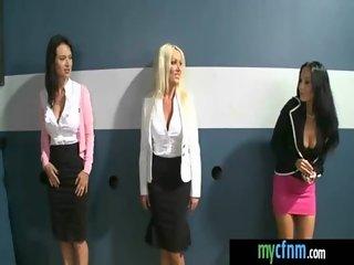 Dude having fun with the ladies CFNM 19