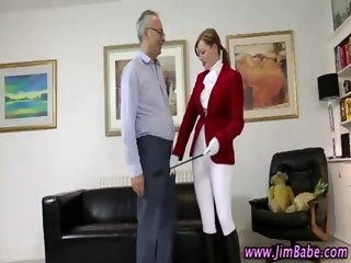 Teen euro equestrian hot amateur