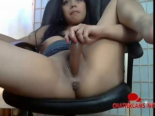 Indian Girl Toys it to the Peak - Chattercams.net