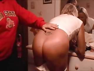 Sissy Husband Gets Attitude Adjustment From Wife!