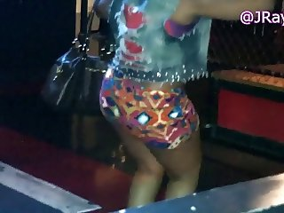 Club Booty - Pink Mini Skirt Redbone