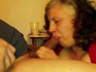 48yr old Married Mature Neighbor  Sucks my BBC