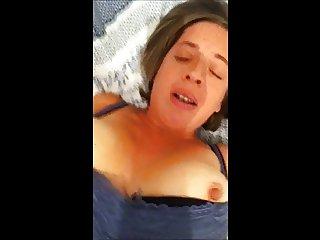 Nawty milf fucked hard DP screaming orgasm cum on high heels