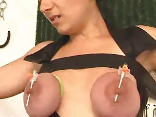 Nipple piercings for the orgasm