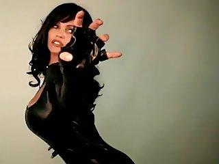 Denise Milani happy Halloween - non nude