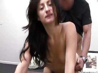 Sarah fucked in Backroom