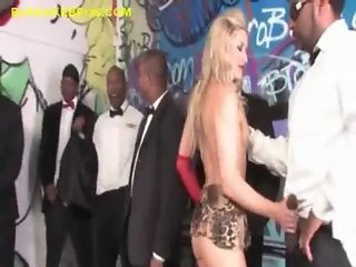 Blacks Appreciate Blonde Slut