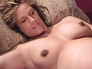 Preggo Wifey Gets 3 Home Cocks