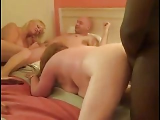Mature White Swingers Include A BBC