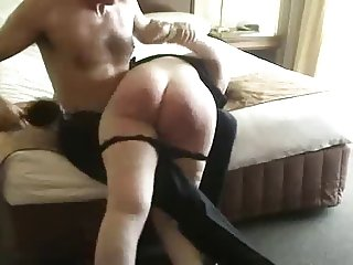 spanking fat ass otk