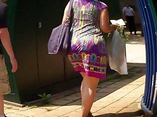 Latina Booty In Summer Dress Ass Culo