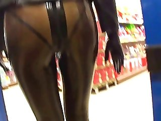 supermarket latex lady