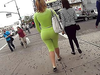 Juicy Fat Ass In Spandex