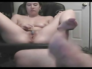 Amature couple watching porn together
