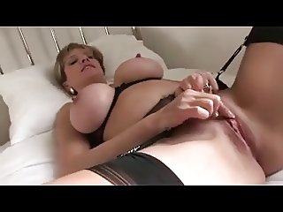 MILF Puts On Lingerie And Slowly Toys Clit Into Ecstasy
