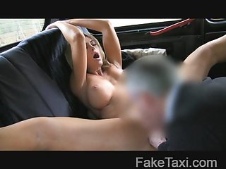 FakeTaxi -  Sexy blonde in taxi revenge
