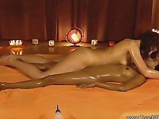 Beautiful Exotic Lesbian Massage