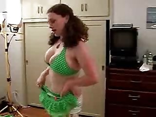 Redhead Tease and Fuck
