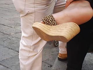 Candid feet 1