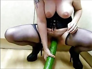 How to use a big size cucumber