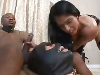 Mistress degrades slave