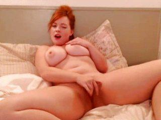 Cute Redhead Teen Big Tits Webcam Show