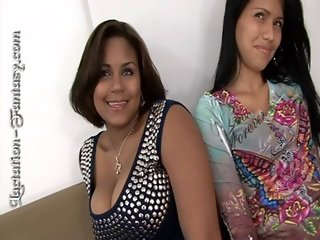Perla gets her big tits sucked on hard
