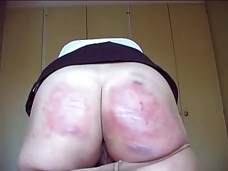 Caned in Pantyhose xLx