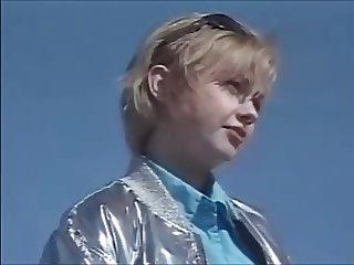 Petite swedish Teen in blue