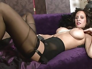 Mercedes FF stockings and girdle
