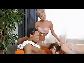 Eric Hard - Young babes suck jizz out of a cock (2012)