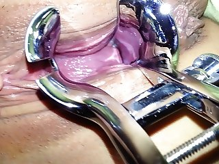 korbang her asian pussy stretched by a speculum short film