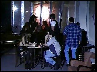 restaurant threesome