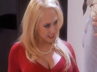 Sexiest blond secretary fucking