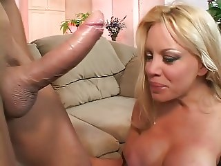 Blonde Plastic Babe Proper Anal