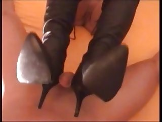 Foot fetish boots