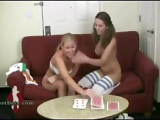 Play cards on an undressing