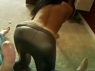 sexy girl in spandex fucking
