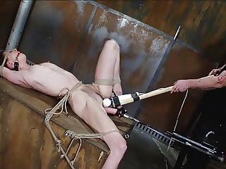 pierced girl machine fucked