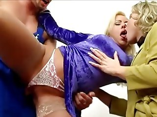 Satin Blouse Fivesome