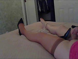 Lisas orgasm on cam