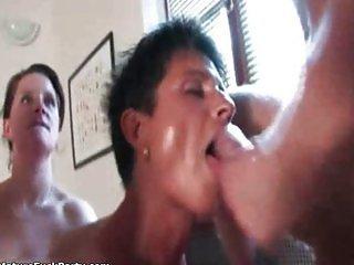 Horny guy fucks experienced brunette