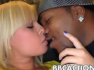 Blondse love big black dicks