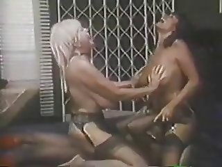 Retro Big Tit Candy Threesome Fuck