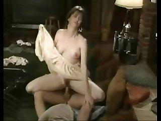 Moaning Horny Brunette