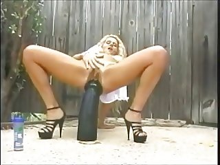 Black Dildo Performance