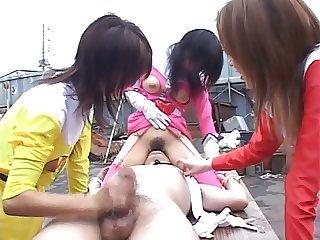 Uncensored japanese bound facesittng