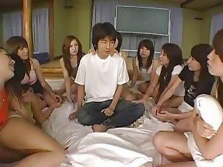 Japanese reverse gangbang 04